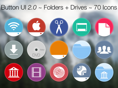 Button UI 2.0 ~ Folders + Drives by BlackVariant