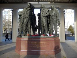 Bomber Command Memorial by ggeudraco