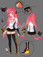 Adopt Auction: UTAU Design [CLOSED] by Xoriu