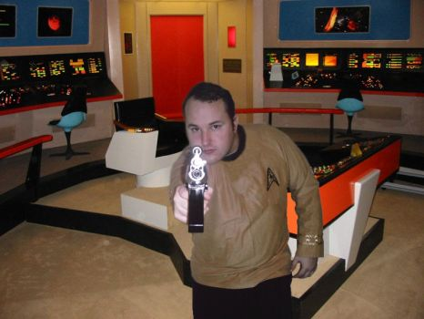 Captain Kirk Cosplay - TOS by kungpow12345