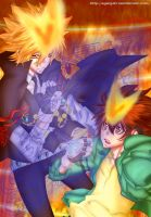Vongola Primo And Vongola Decimo by Egenysh