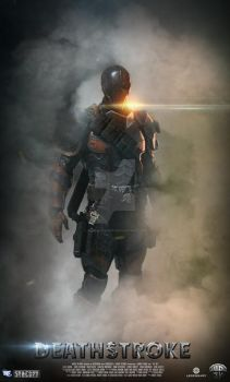 Deathstroke Fanmade poster by IvanMaximoff