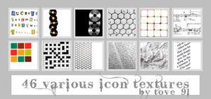 46 various icon textures by Tove91