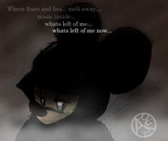 Mickey : Whats Left of Me by angelsunbomb