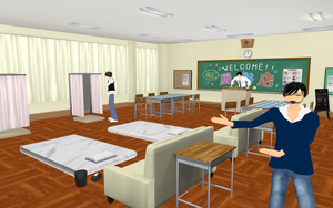 School stage DL by MMD-francis-co
