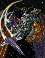 Unicron Eclipsed by illmatar