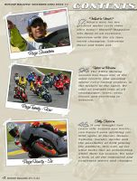 Moto Gp Magazine - Contents by fadingaway