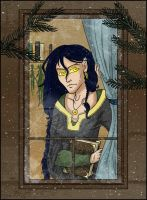 Outside the window by Vedunia