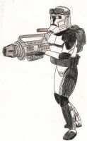 Clone Heavy Gunner by Tribble-Industries