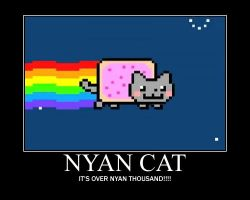 Nyan Cat Motivator by Tespeon