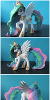 SOLD: Princess Celestia G4 Custom Pony by EmR0304
