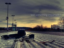 Lost something important by expressive87