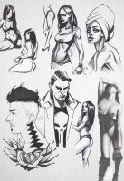 Sketch Dump 13 by NemoNova