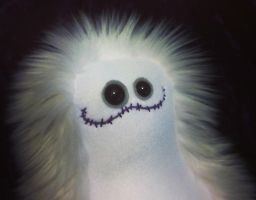 Hauntster, who is awfully fuzzy for a ghost by mintconspiracy