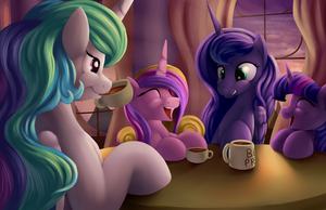 Tea Time by Grennadder