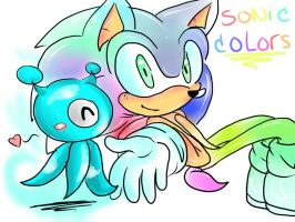 sonic colors by Patrial
