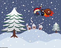 Christmas Wallpaper by LordPrevious