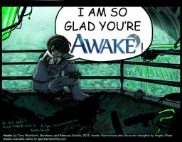 Glad You're Awake (color) by five-pm