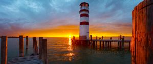 lighthouse podersdorf by photoplace