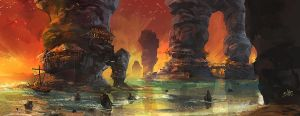 Coast by xiaoxinart