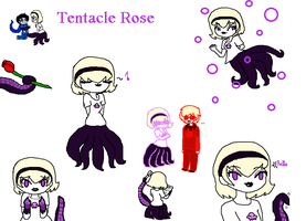 Tentacle Rose by Jerena