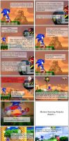 Classic Sonic in Sonic 4 vol 2 by cazetta