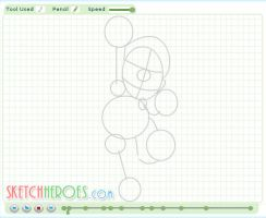 How to Draw Mario Part 1 by SketchHeroes