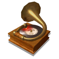 Steampunk Music Player Icon Mk2 by pendragon1966