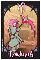 KH2-Marluxia- badge art by Kieshar