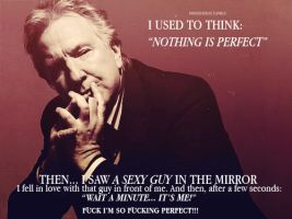 Alan Rickman joke by MarySeverus