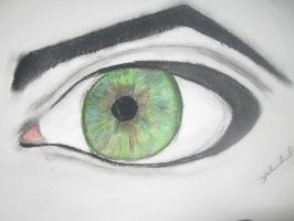 Window to your soul - eye by esme9406