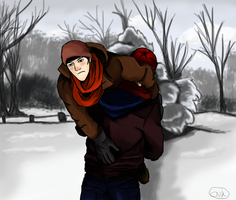 Merthur - winter wonderland by kneelmortals