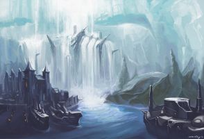 Arctic Harbour by Cryotube