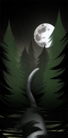 ShadowClan Bookmark: Dark Heart of the Forest by ashkey