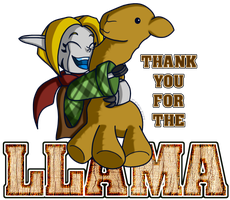 Thank You For The Llama by Brother-Orin
