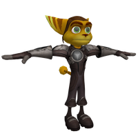 Ratchet and Clank Future: ACiT - Ratchet (OLD) by o0DemonBoy0o