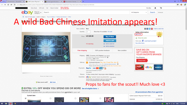 Chinese Modern Tech Playmat Imitation Spotted by Swifty-TheVagabond