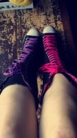 My Chucks! by Lambiiee