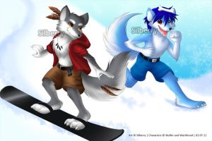 Comm: Wachhund and Wulfer by Silberry