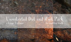 Unrestricted Dirt and RustPack by emothic-stock