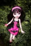 Monster High: Draculaura in the bush by KanashiSadness