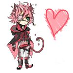 [CLOSED CHIBI ADOPTABLE] Pink Kitty by Jequu