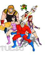 New gods by TULIO19mx