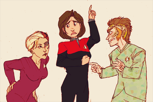 WHAT WOULD JANEWAY DO by HedgehogBeeblebrox