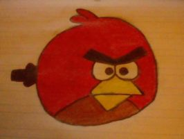 Red Angry Bird by xTomzx101