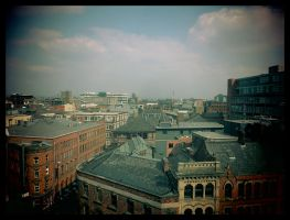 Cityscape of Old Manchester by ncaph