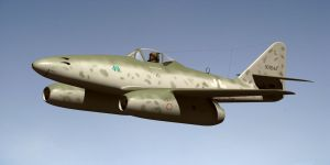 Messerschmitt Me262 by Emigepa