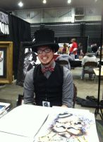 Steampunk man by VeronicaPrower