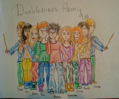 Dumbledores Army by Eveliien