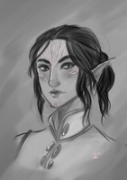 Inquisitor Lavellan by AlexielApril